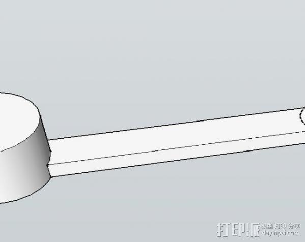 V1 DJI 节杆控制设备 3D模型  图6