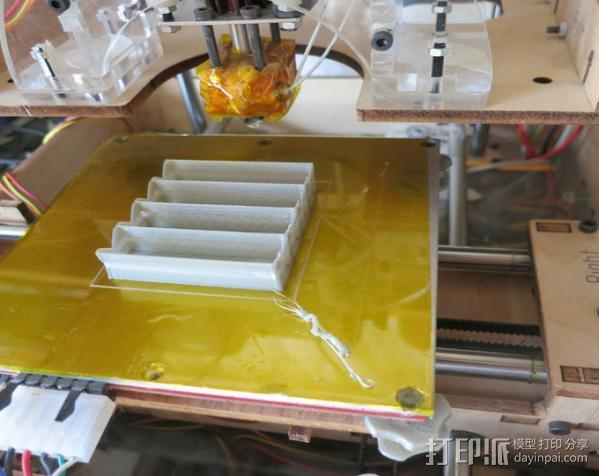 电池座 3D模型  图4
