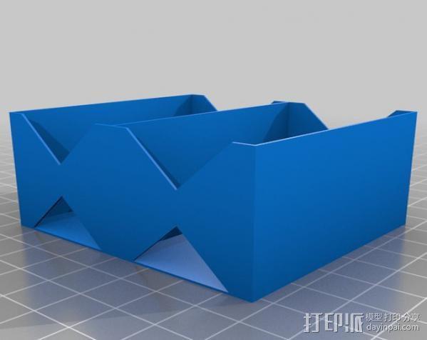 电池座 3D模型  图5