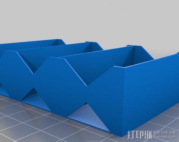 电池座 3D模型  图6