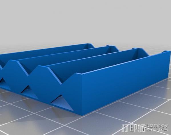 电池座 3D模型  图8