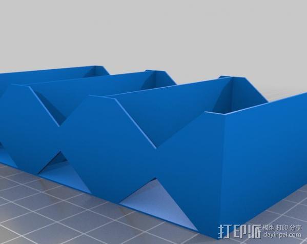 电池座 3D模型  图7