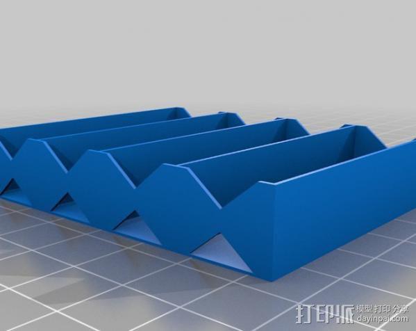 电池座 3D模型  图9
