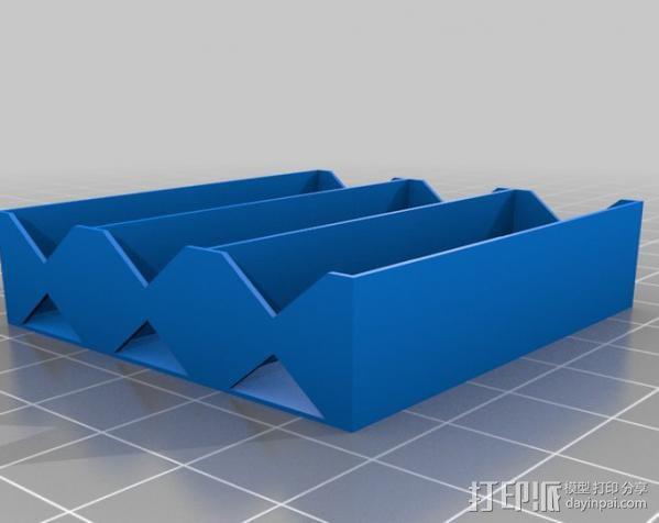 电池座 3D模型  图11