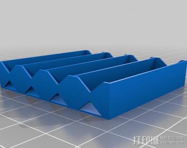 电池座 3D模型  图12
