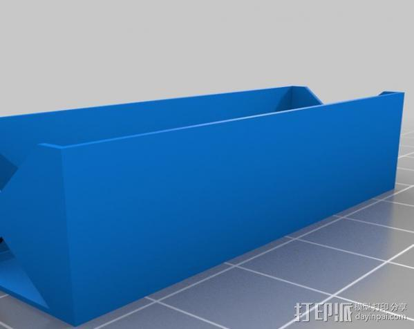 电池座 3D模型  图13