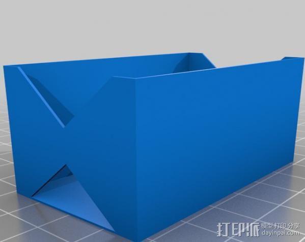 电池座 3D模型  图14