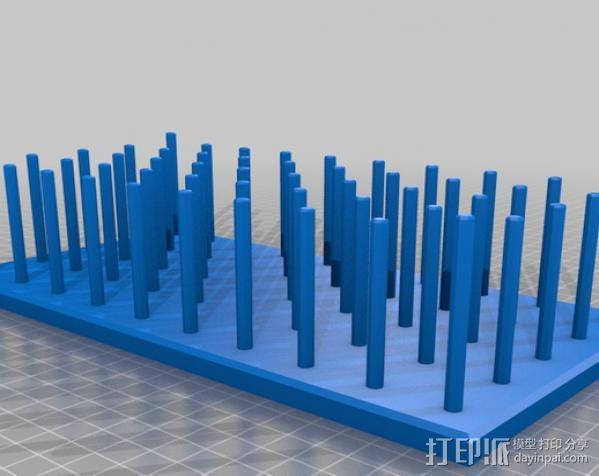 缝纫机线存储器 3D模型  图2