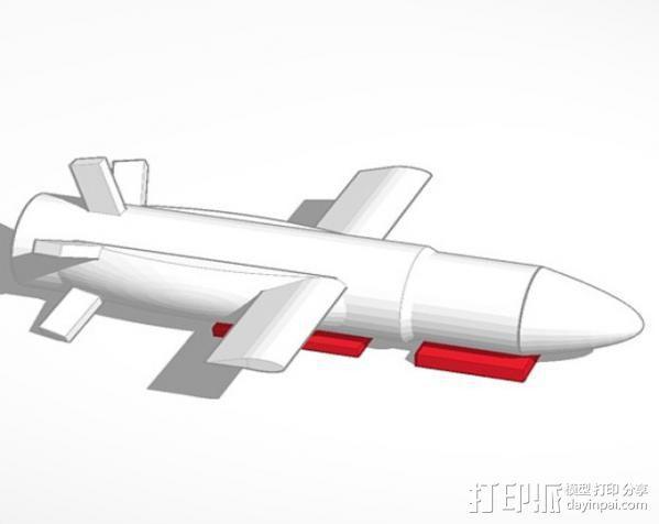 PLEIADES 1 游轮导弹 3D模型  图1