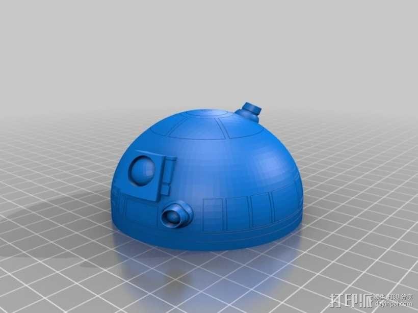 安卓R2D2 3D模型  图1