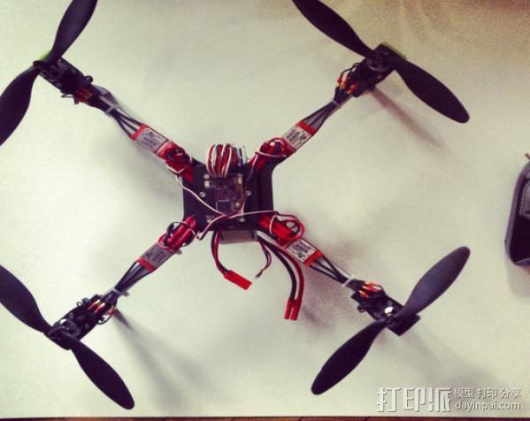 四轴飞行器 3D模型  图12