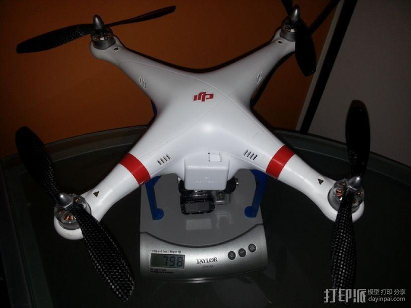 V3 DJI幻影起落架 3D模型  图11