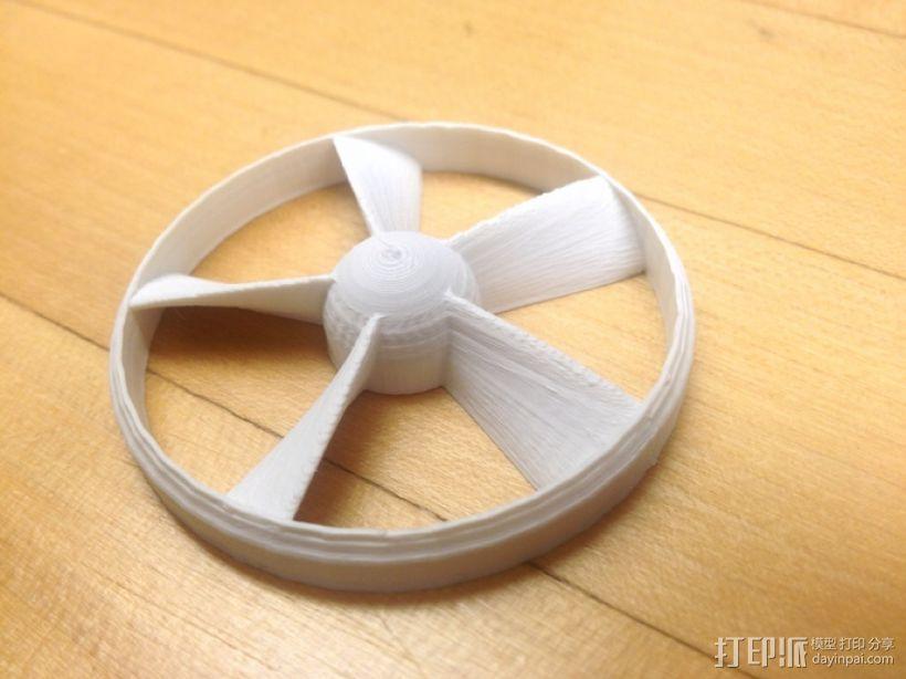 参数改进过后的螺旋桨 3D模型  图1