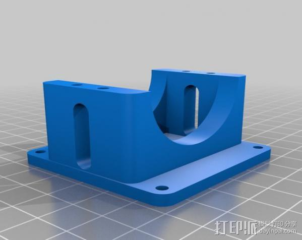 DJI F550 照相机架 3D模型  图4