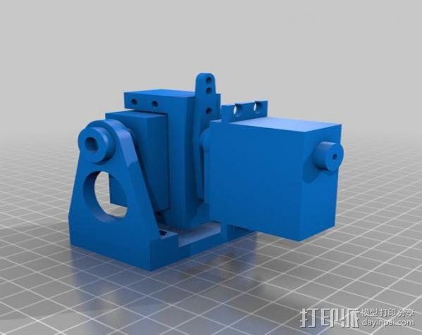 DJI F550 照相机架 3D模型  图7