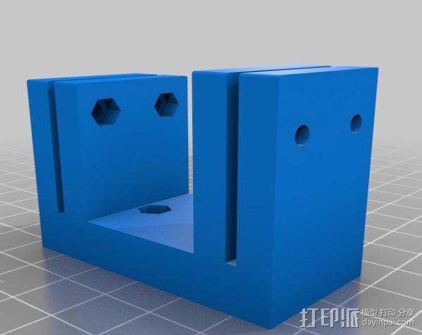 DJI F550 照相机架 3D模型  图6