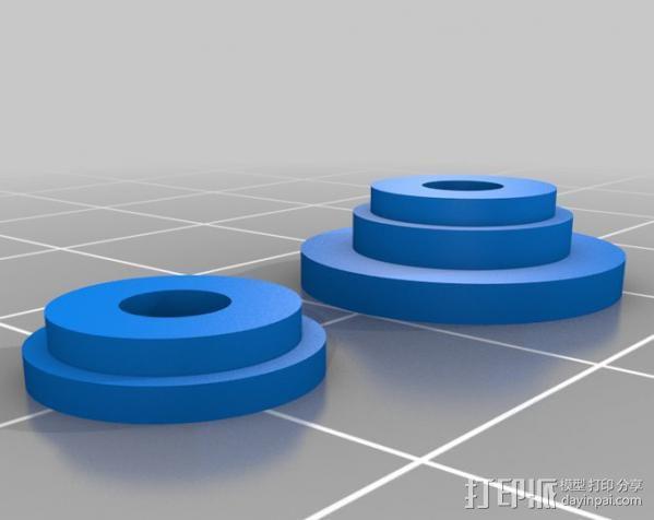 DJI F550 照相机架 3D模型  图8