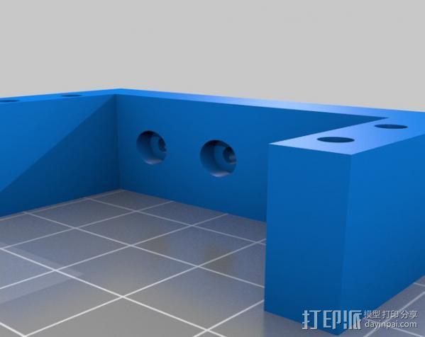 DJI F550 照相机架 3D模型  图11