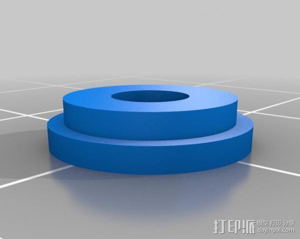 DJI F550 照相机架 3D模型  图14