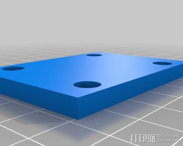 DJI F550 照相机架 3D模型  图15