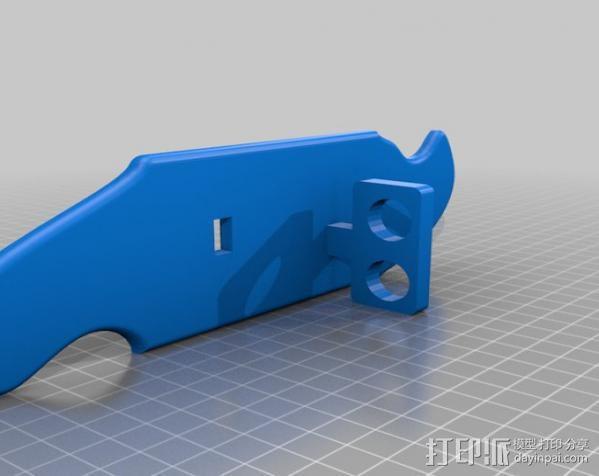 自行车报警器 3D模型  图3