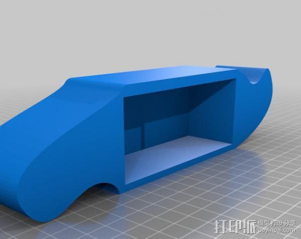 自行车报警器 3D模型  图2