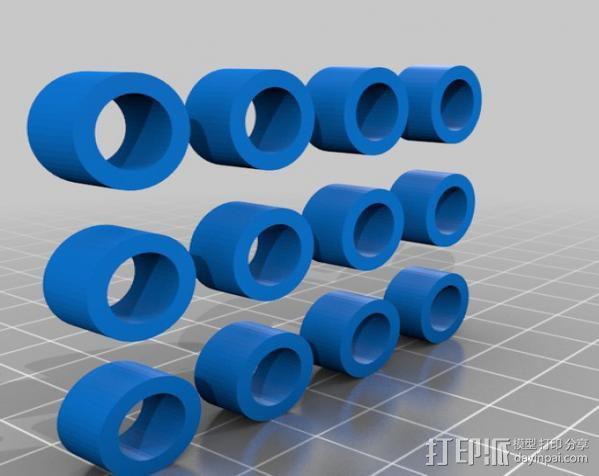 定制旱冰鞋 3D模型  图3
