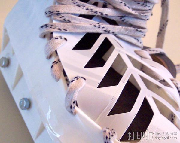 定制旱冰鞋 3D模型  图6