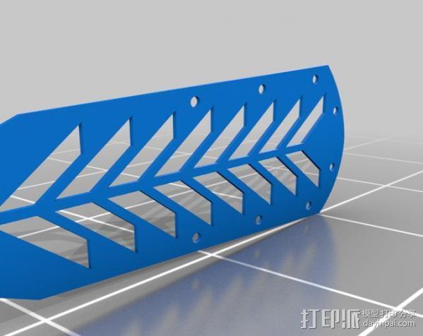 定制旱冰鞋 3D模型  图11