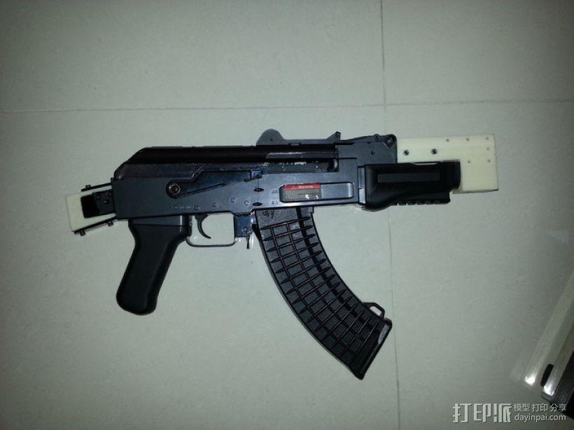 软弹气枪填料 3D模型  图1