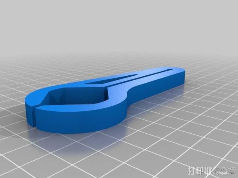 汽车油门锁 3D模型  图2