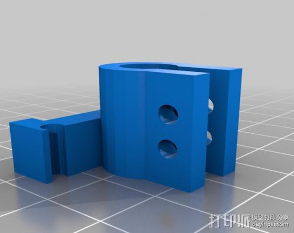Micro-Hexapod笔座 3D模型  图2