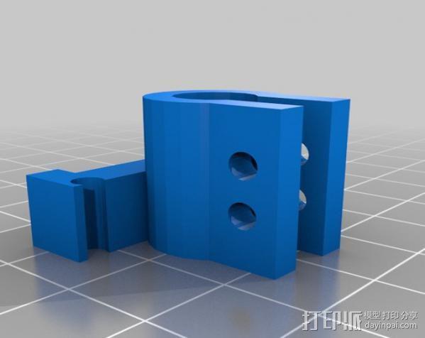 Micro-Hexapod笔座 3D模型  图3