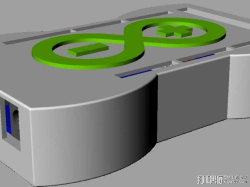 R3盒子 3D模型  图1