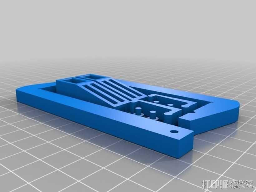 Hobby clamp夹子 3D模型  图2
