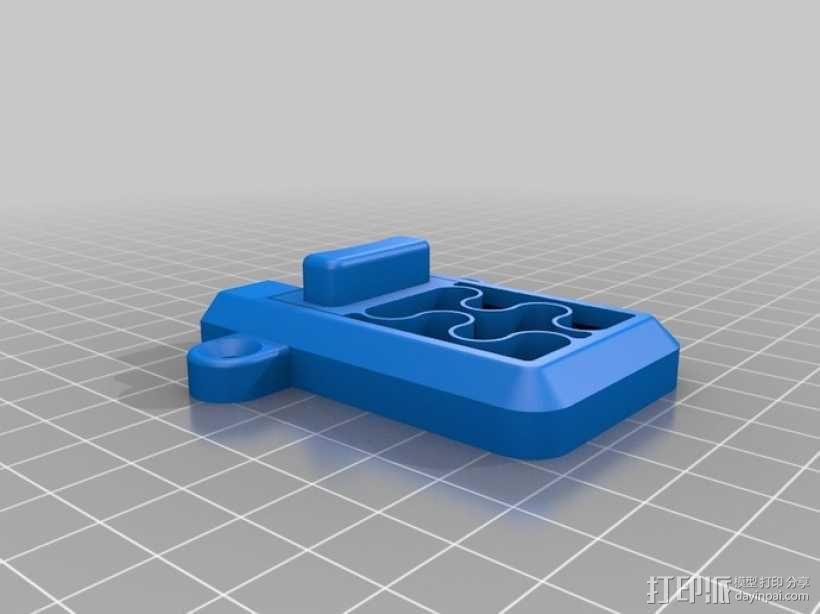 简单的簧上螺栓 3D模型  图2