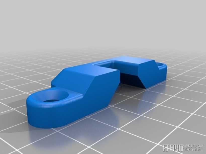 简单的簧上螺栓 3D模型  图3