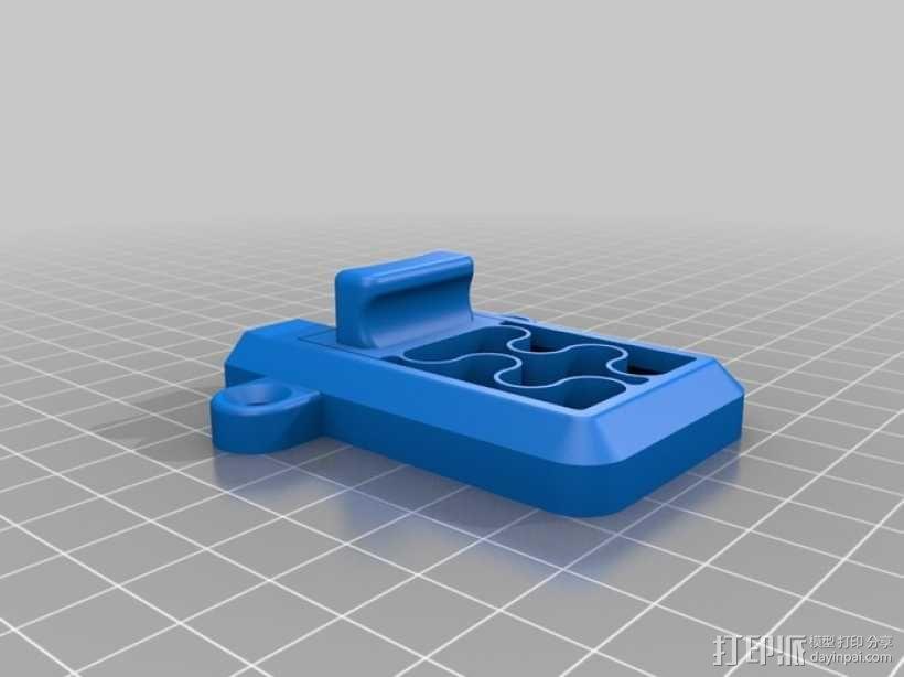 简单的簧上螺栓 3D模型  图4