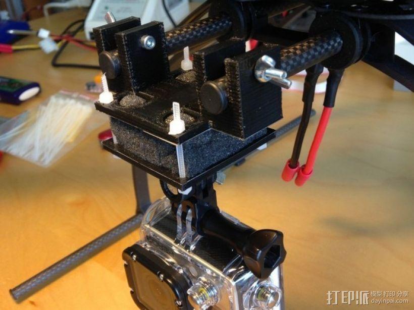 摄影机座架 3D模型  图1