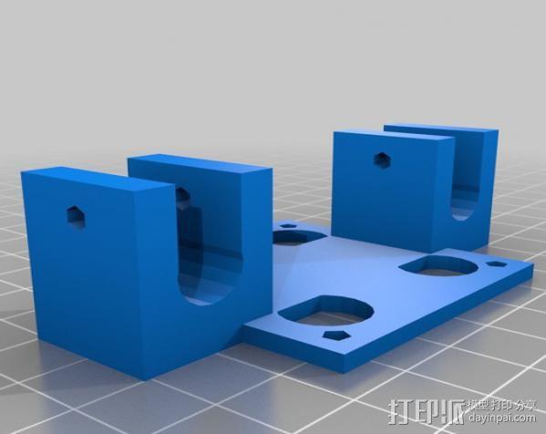 摄影机座架 3D模型  图3