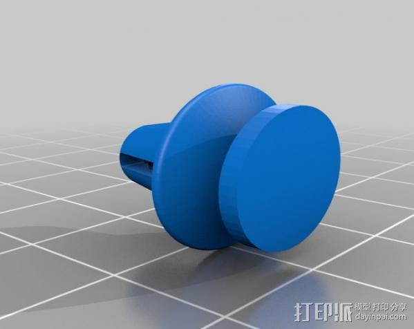 汽车塑料固件 3D模型  图1
