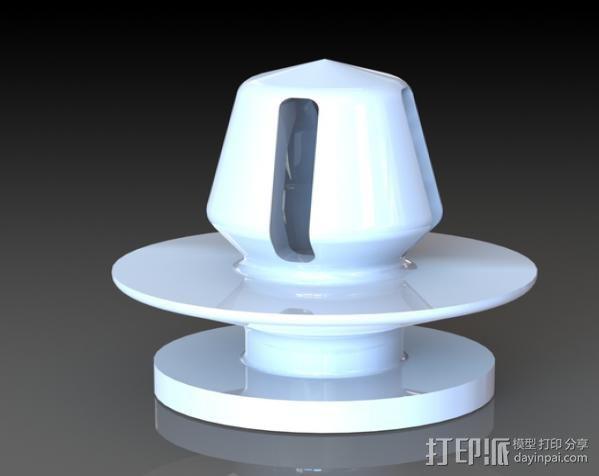 汽车塑料固件 3D模型  图2