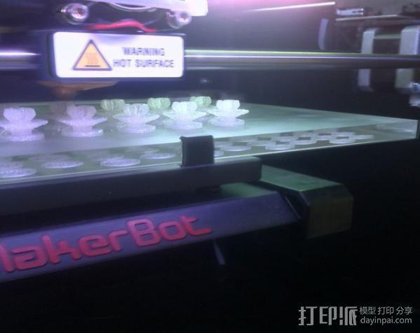 汽车塑料固件 3D模型  图3