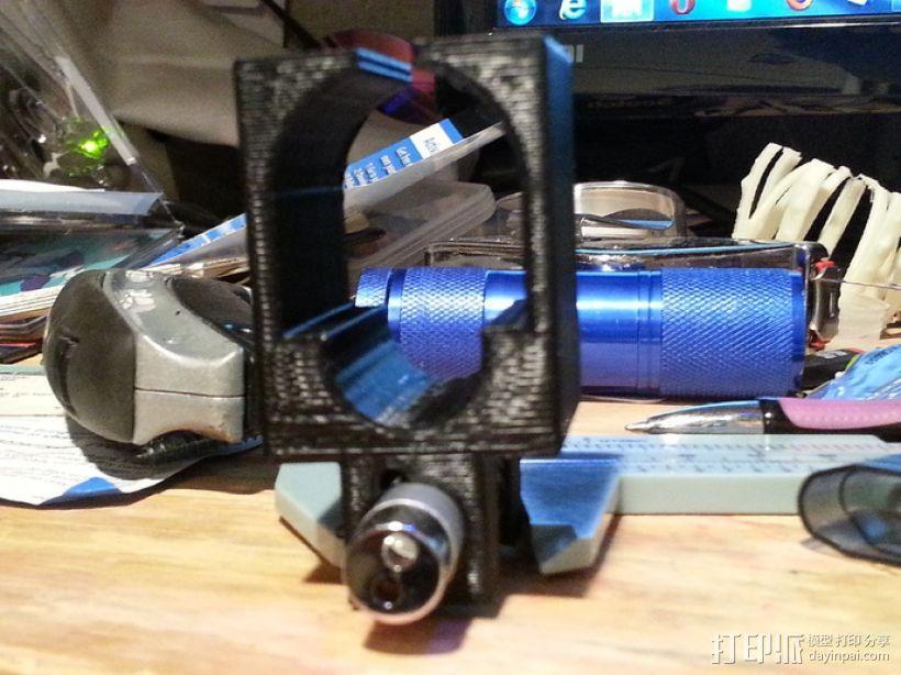 软弹气枪手枪激光瞄准器 3D模型  图4