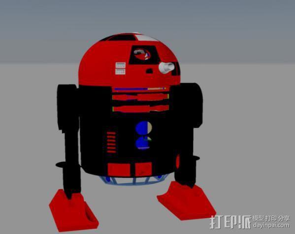 R2D2皮肤外观 3D模型  图14
