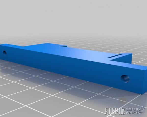 TH35 导航安装器 3D模型  图2