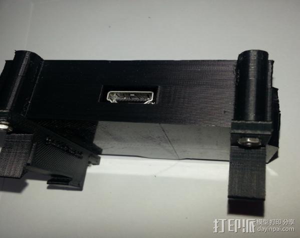 TH35 导航安装器 3D模型  图4