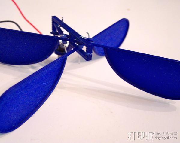 3D打印的飞机 3D模型  图1