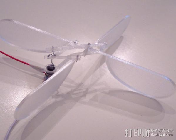 3D打印的飞机 3D模型  图7