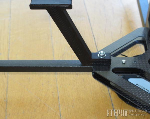 起落滑橇 3D模型  图5